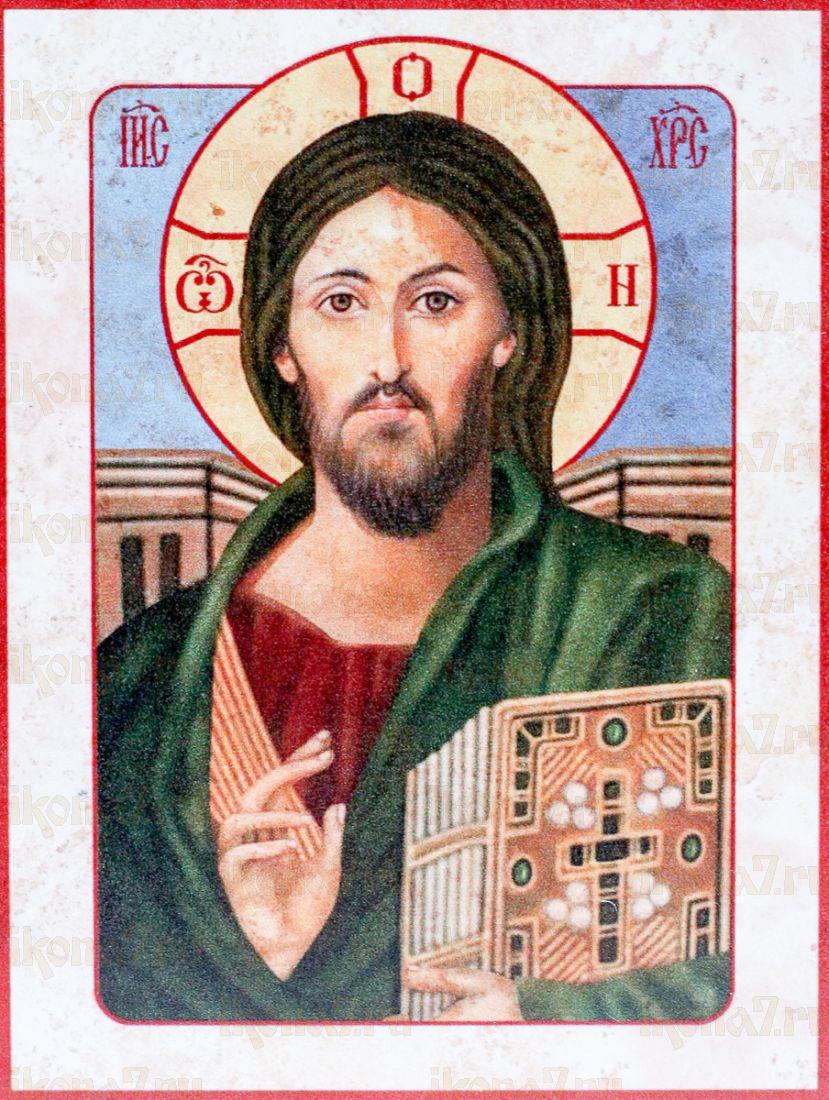 Христос Пантократор Синайский (икона на дереве)