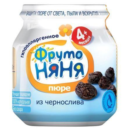 Пюре Фрутоняня чернослив 100г