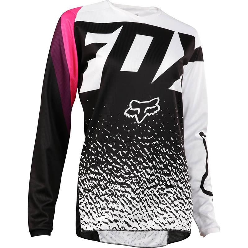 Fox - 2018 180 Womens Black/Pink джерси женское, черно-розовое