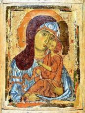 Умиление Елеуса (копия старинной иконы)