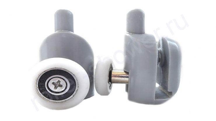 Ролик VH001 нижний с кнопкой. Диаметр колеса (от 18,6 до 28мм) (комплект 4шт)