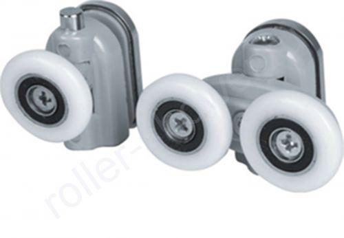 Ролик для душевой кабины VH026. Диаметр колеса (от 18,6 до 28мм) (комплект 8шт)