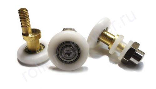 Ролик для душевой кабины VH003. Диаметр колеса (от 18,6 до 28мм)