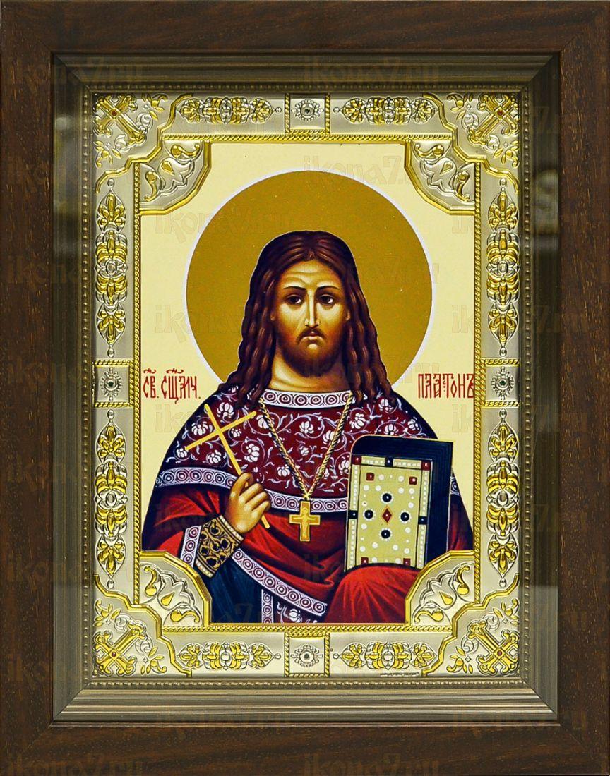 Платон Горных (24х30), серебро