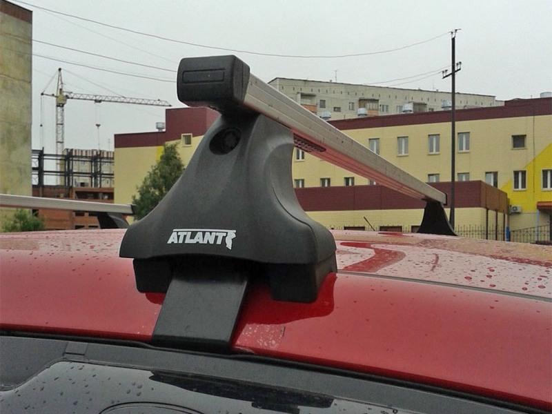 Багажник на крышу Mazda CX-5 2017-..., Атлант, прямоугольные дуги