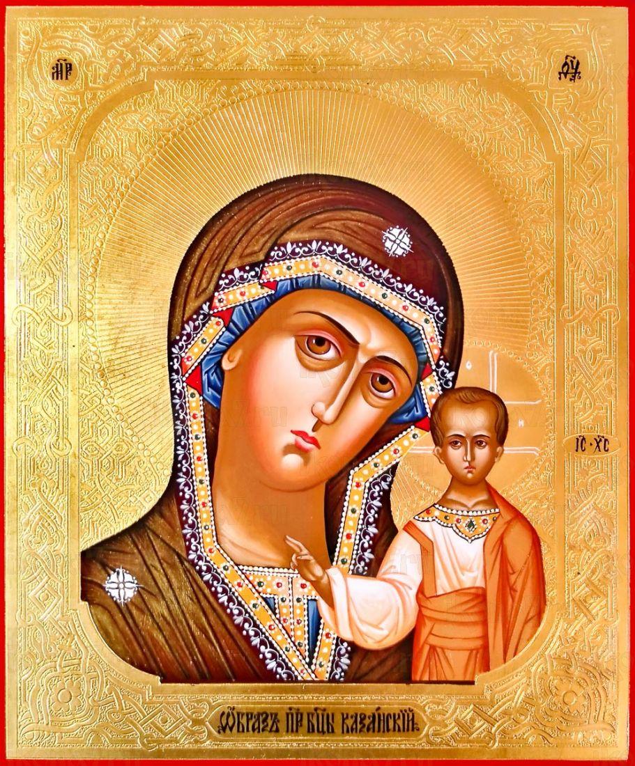 Икона Казанская икона Божией Матери