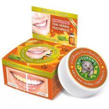 Круглая зубная паста с анисом «BINTURONG», 33г
