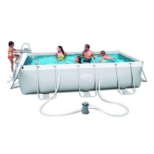Каркасный бассейн Bestway 56441 (404х201х100) с картриджным фильтром
