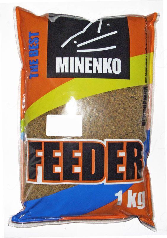 Прикормка МИНЕНКО Feeder Карп, вес 1 кг