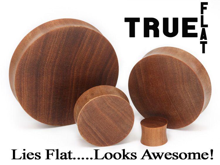 Плаги True Flat дерево Саба