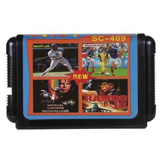 Sega картридж 4 в 1 SC-409