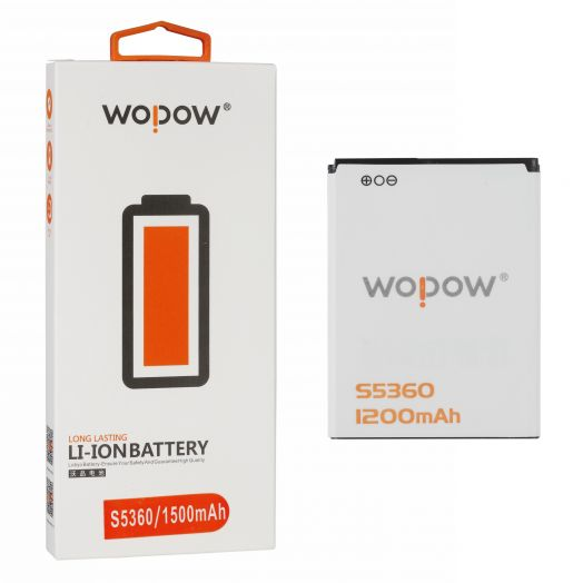 "Аккумулятор для Samsung S5360 ""Wopow"""