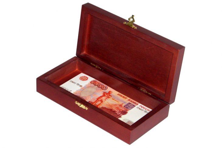 Шкатулка для одной валюты