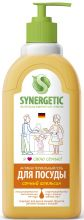 Средство биоразлагаемое для мытья посуды, детских игрушек с ароматом апельсина, 0,5л