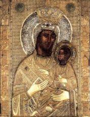 Ктиторская икона Божией Матери (копия старинной)