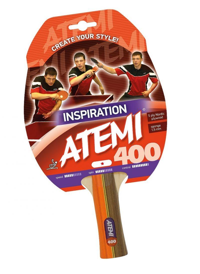 Ракетка для настольного тенниса ATEMI 400 1 звезда