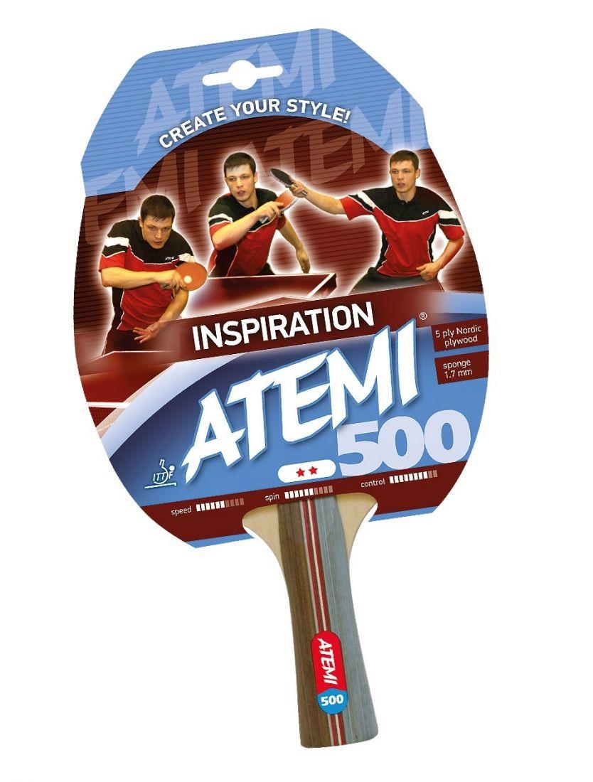 Ракетка для настольного тенниса ATEMI 500 2 звезды