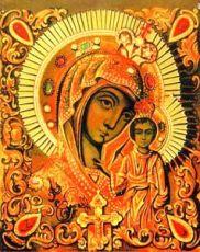 Вышенская икона Божией Матери (копия старинной)