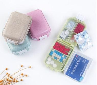 Японская компактная таблетница в сумку