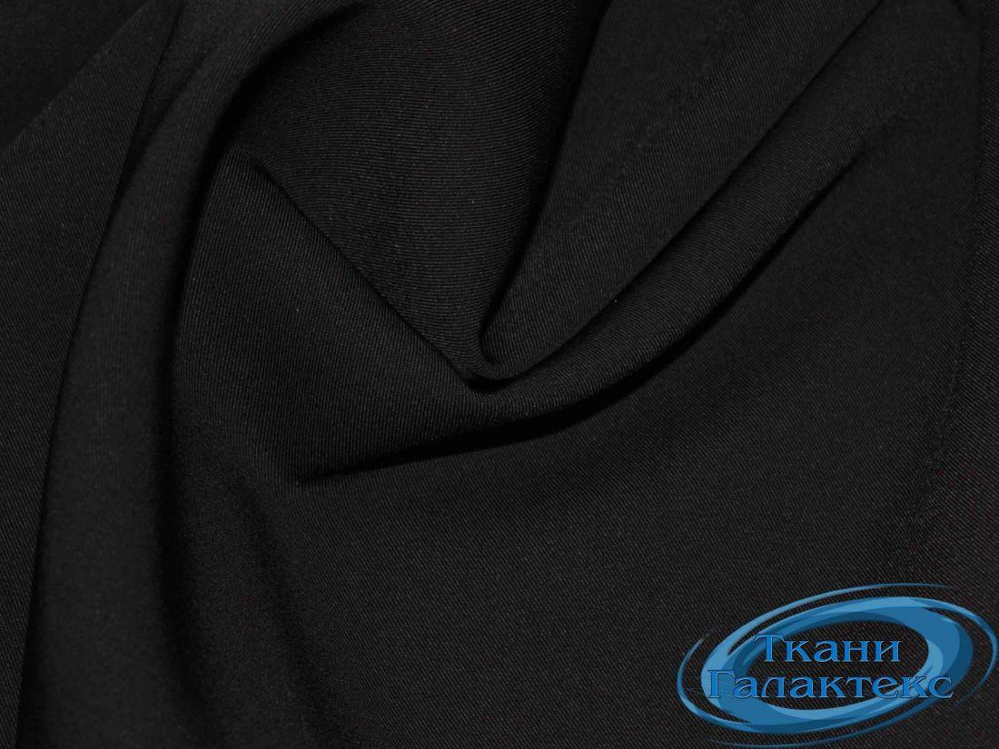 """Твил французский """"Лагуна"""" 16546/C#1 черный"""