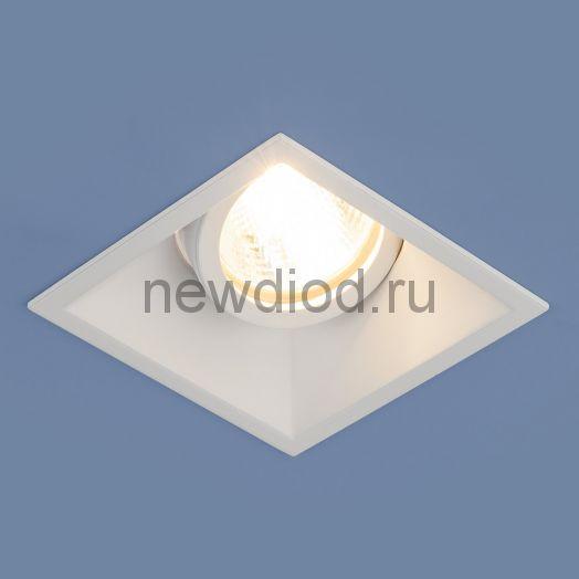 Алюминиевый точечный светильник 6070 MR16 WH белый