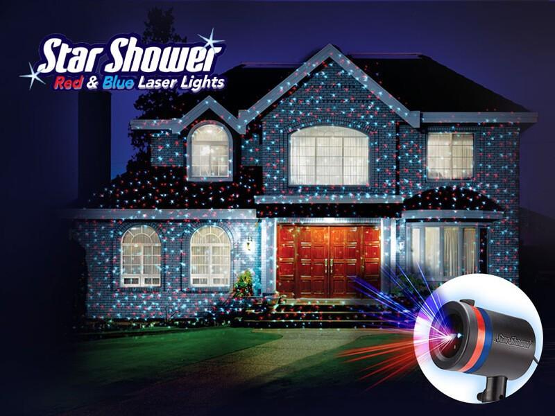 Лазерный Проектор Звездный Дождь Star Shower Motion