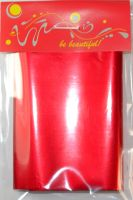 Фольга для дизайна ногтей, литья (переводная). Цвет: красный (Широкая - 7см на 1 метр)