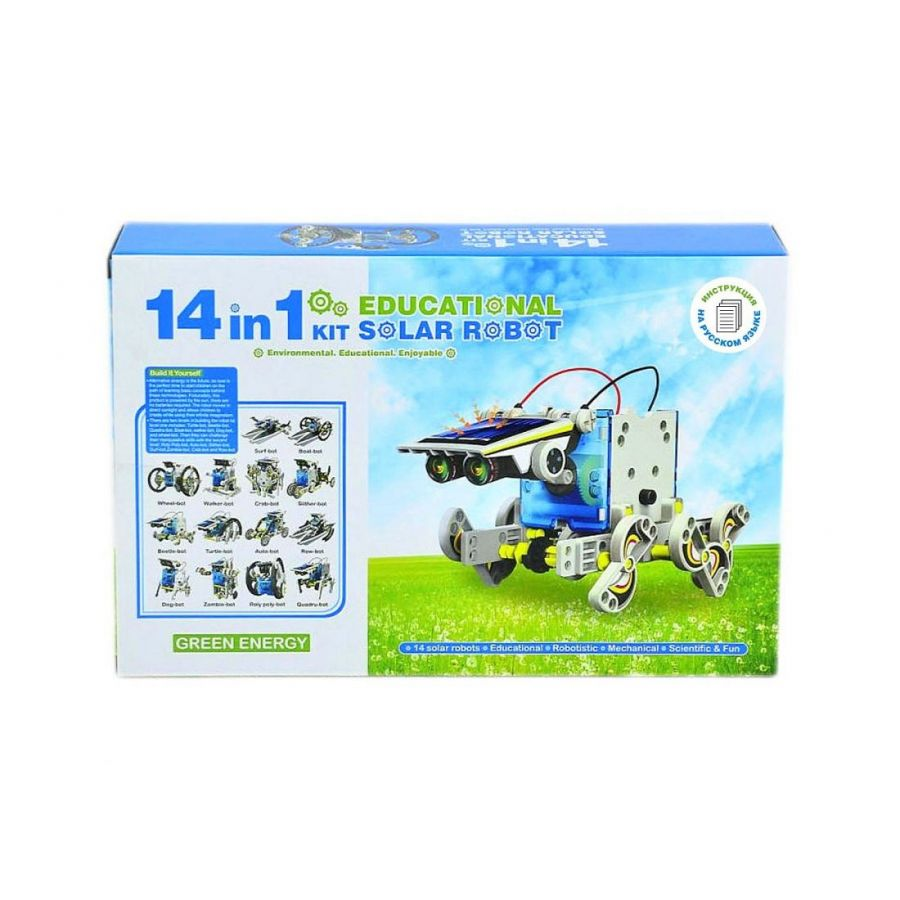 Конструктор «SOLAR 14 IN 1 ROBOT KIT» (К)
