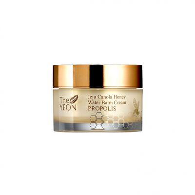 Крем-бальзам для лица увлажняющий TheYEON Jeju Canola Honey Water Balm Cream Propolis 50гр