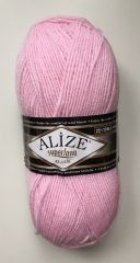Superlana klasik (Alize) 518-розовая пудра