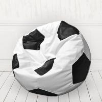 Кресло мяч Белый с черным