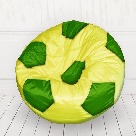 Кресло мяч Желтый с зеленым