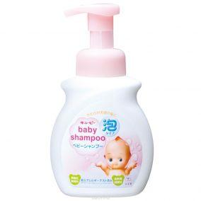 """Детский шампунь для волос  COW BRAND """"Kewpie"""", без аромата, диспенсер 350 мл."""