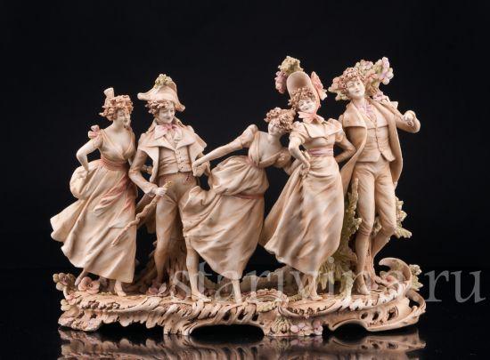 Изображение Веселая компания, Royal Wien, Австрия, кон. 19 в