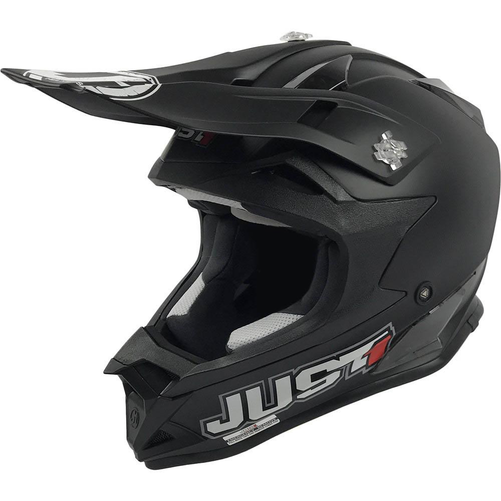 Just1 - J32 Pro Solid Black шлем, черный матовый