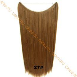 Искусственные термостойкие волосы на леске прямые №027 (60 см) - 100 гр.