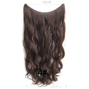 Искусственные термостойкие волосы на леске волнистые №004 (60 см) - 100 гр.
