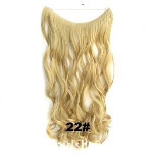 Искусственные термостойкие волосы на леске волнистые №022 (60 см) - 100 гр.