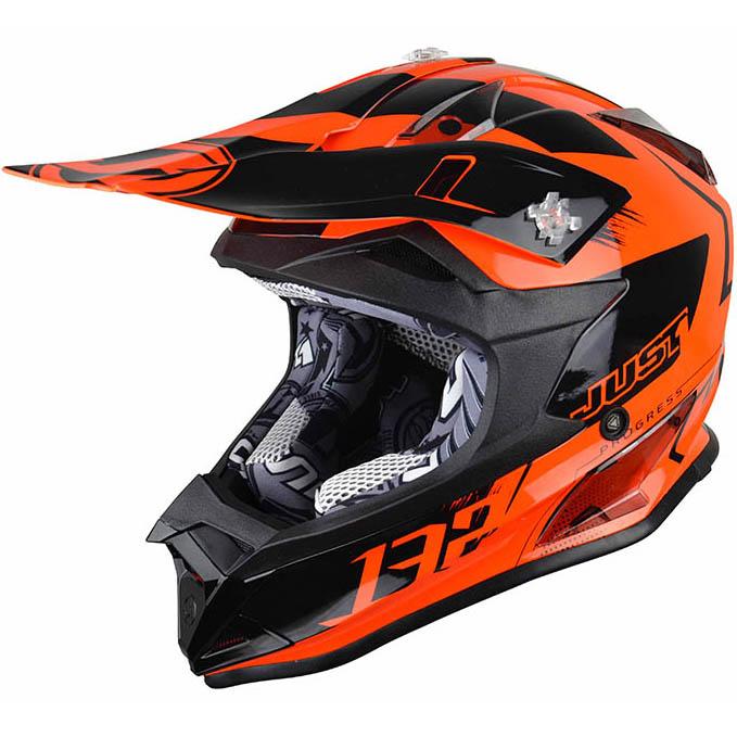 Just1 - J32 Pro Kick Kids Orange шлем, подростковый оранжевый