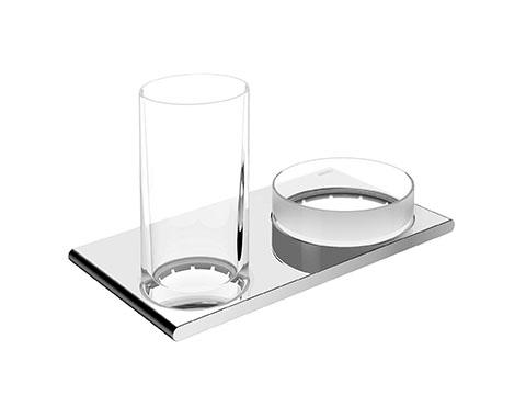 Keuco Edition 400 Двойной держатель со стаканом и чашей 11554