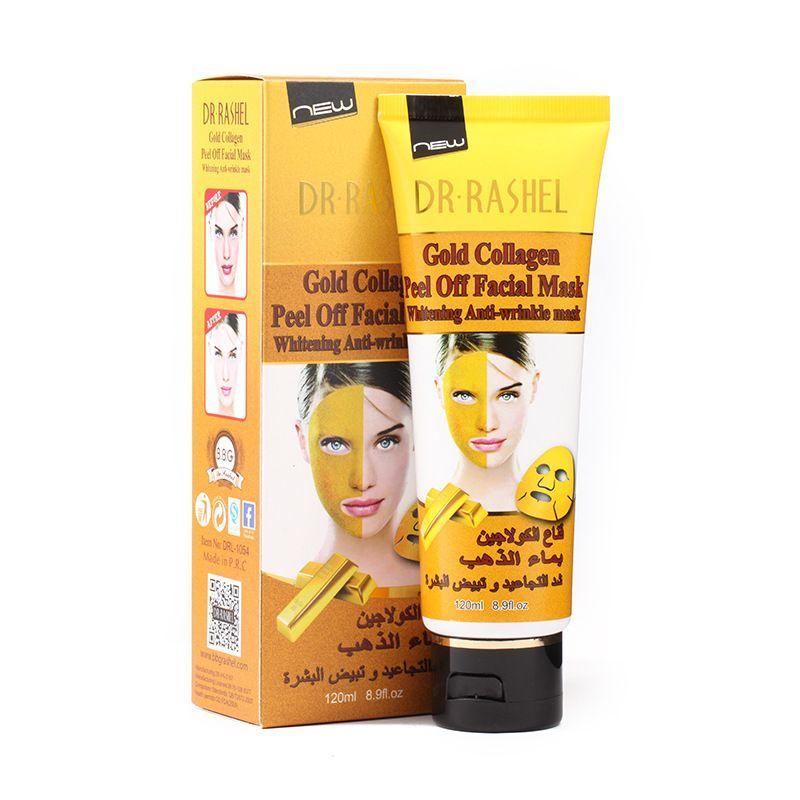 Коллагеновая маска разглаживание морщин + отбеливание Dr.Rashel 120ml