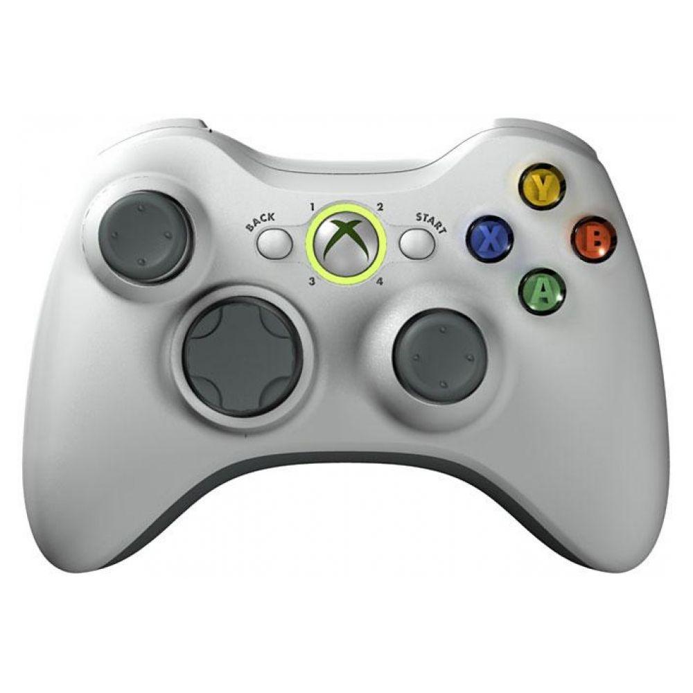 Microsoft Xbox 360 Wireless Controller ( Белый )