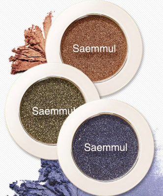 The SAEM EYE Тени для век мерцающие Saemmul Single Shadow(Shimmer) 2гр