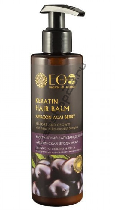 ECOLAB - Кератиновый бальзам для волос Амазонская асаи