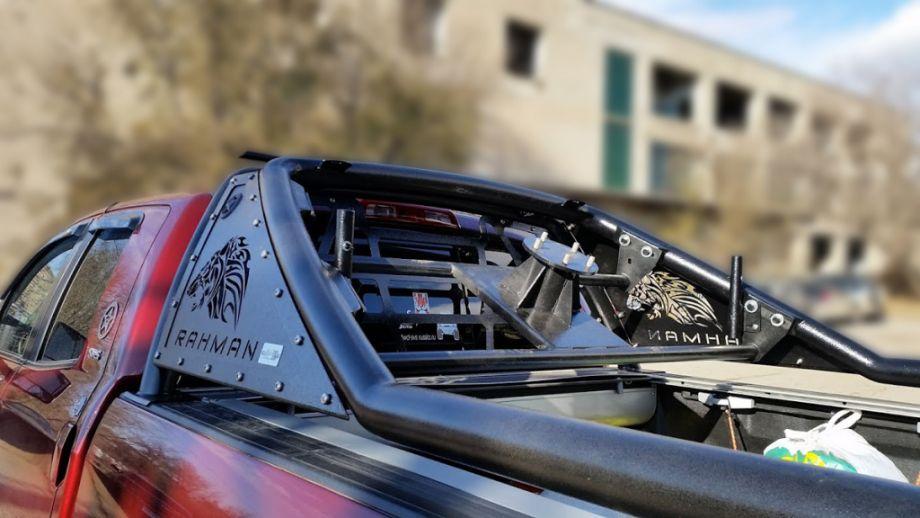 Кронштейн запасного колеса в дугу cтандарт Toyota Tundra 07-13