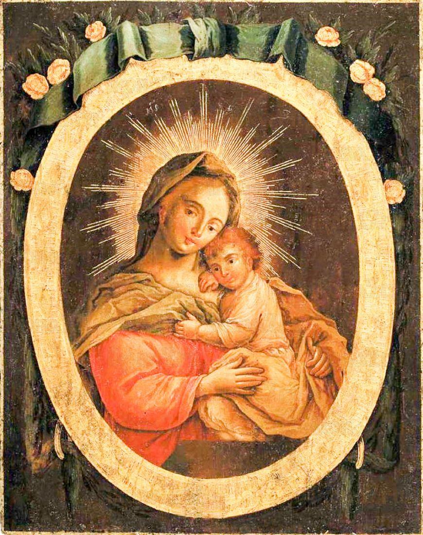 Пожайская икона Божией Матери (копия старинной)