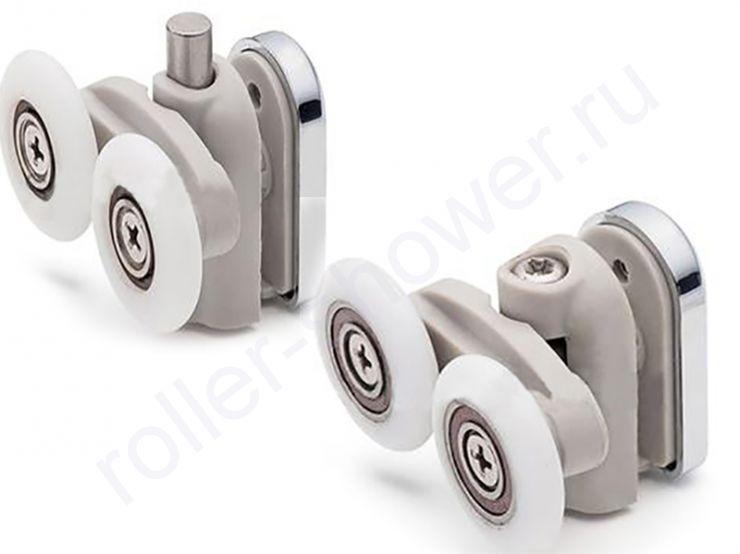 Ролик для душевой кабины VH028. Диаметр колеса (от 18,6 до 28мм) (комплект 8шт)