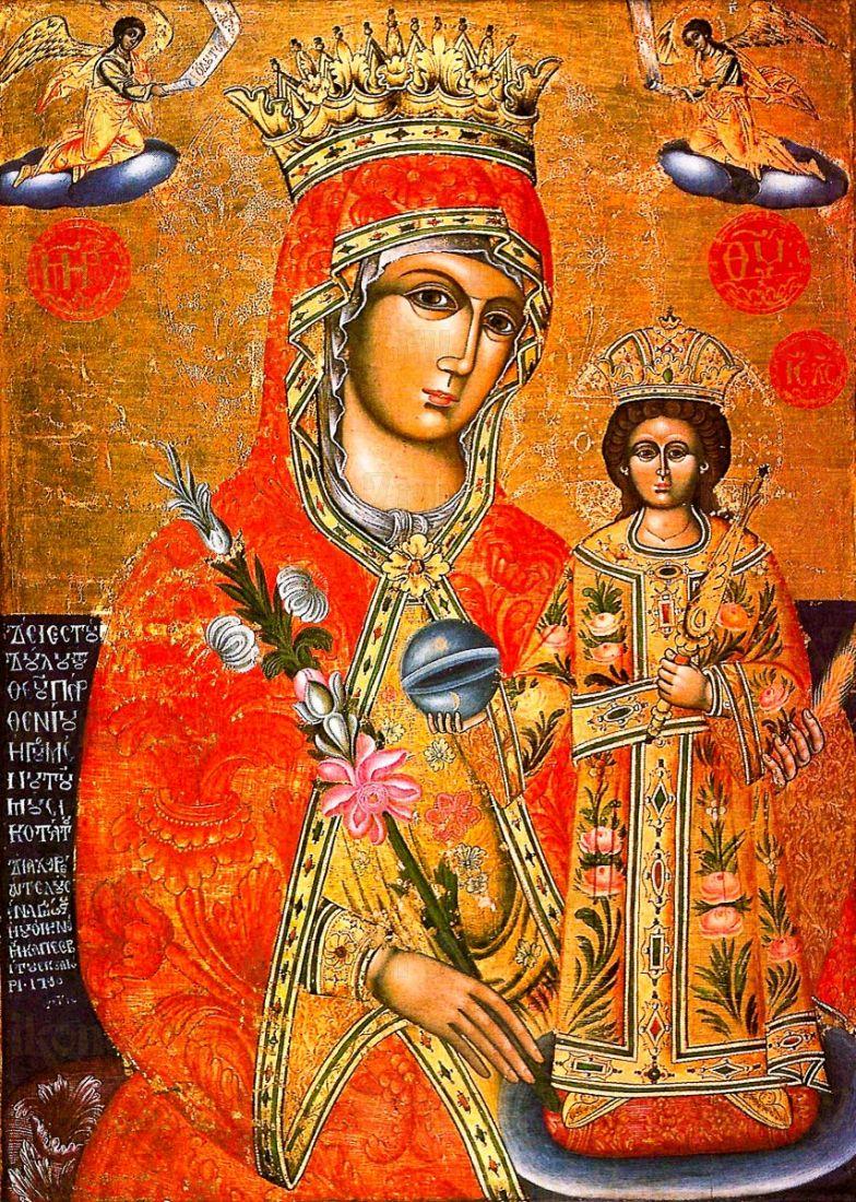 Неувядаемый Цвет (копия старинной иконы)