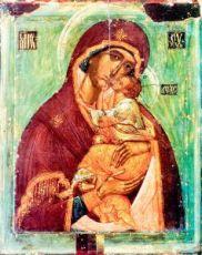 Словенская икона Божией Матери (копия старинной)