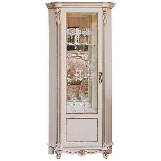 Шкаф с витриной Алези 10 П350.13